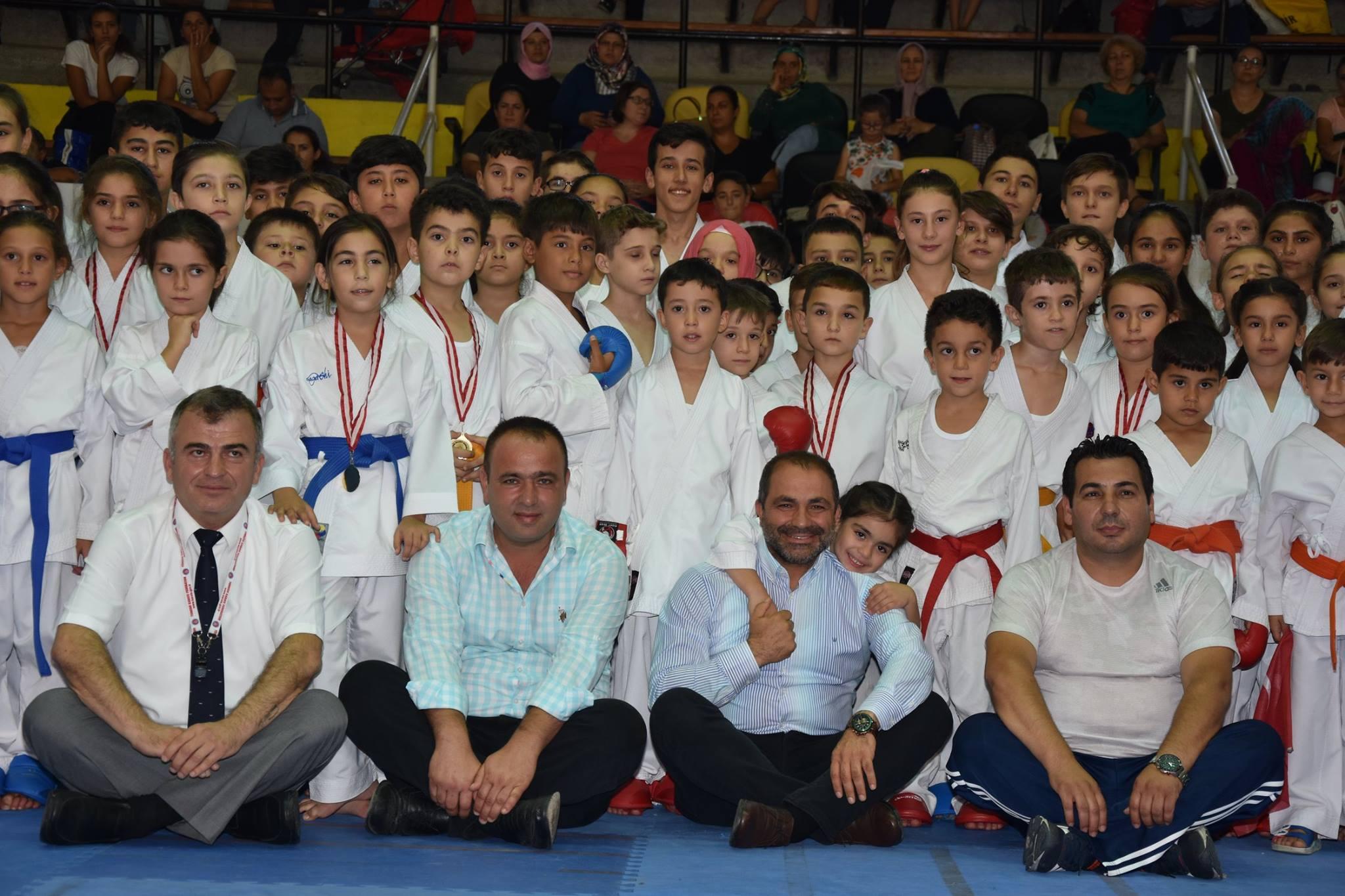 1.Alaşehir Karate Turnuvası Tamamlandı.