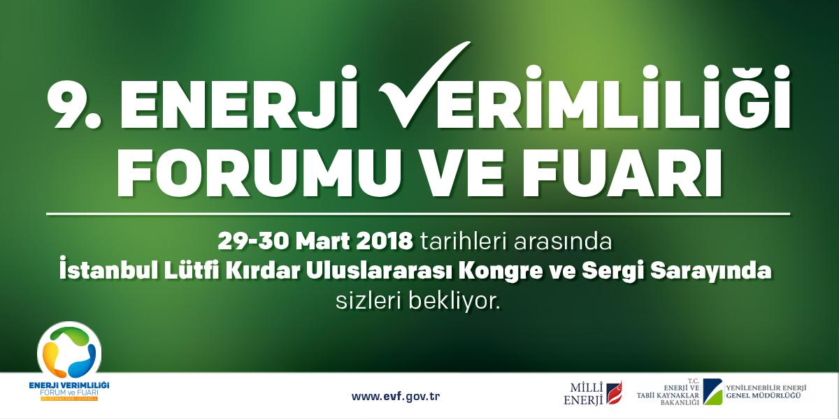 9.Enerji Verimliliği Forumu ve Fuarı