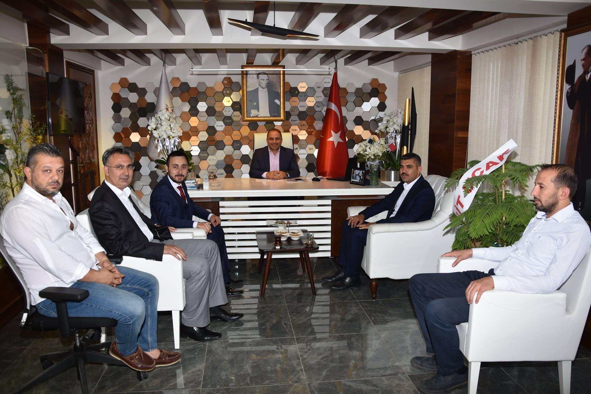 Ak Parti Alaşehir İlçe Başkanı Murat Ertürk'den Hayırlı Olsun Ziyareti