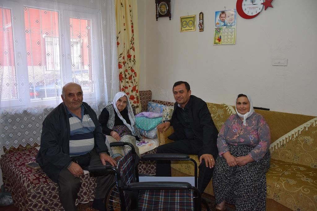 """Alaşehir Belediyesi Engelli Vatandaşlarımıza karşı uyguladığı """"Pozitif Ayrımcılıklara"""" bir yenisini daha ekledi."""