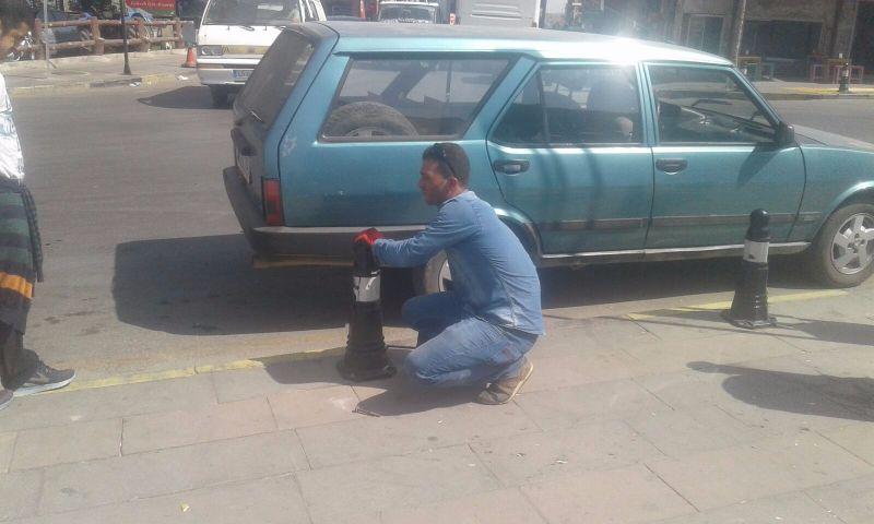 Alaşehir Belediyesi Fen İşleri Arı Gibi Çalışıyor