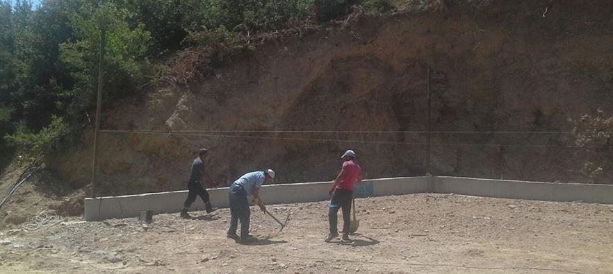 Alaşehir Belediyesi Meyve - Sebze Alım Merkezi Yapıyor