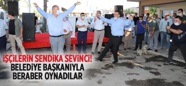Alaşehir Belediyesi'nde 21 Yıl Sonra Toplu Sözleşme Sevinci Yaşandı