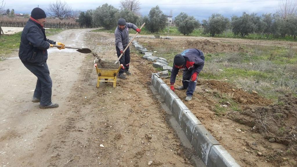 Alaşehir Belediyesi'nden Her Yere Hizmet
