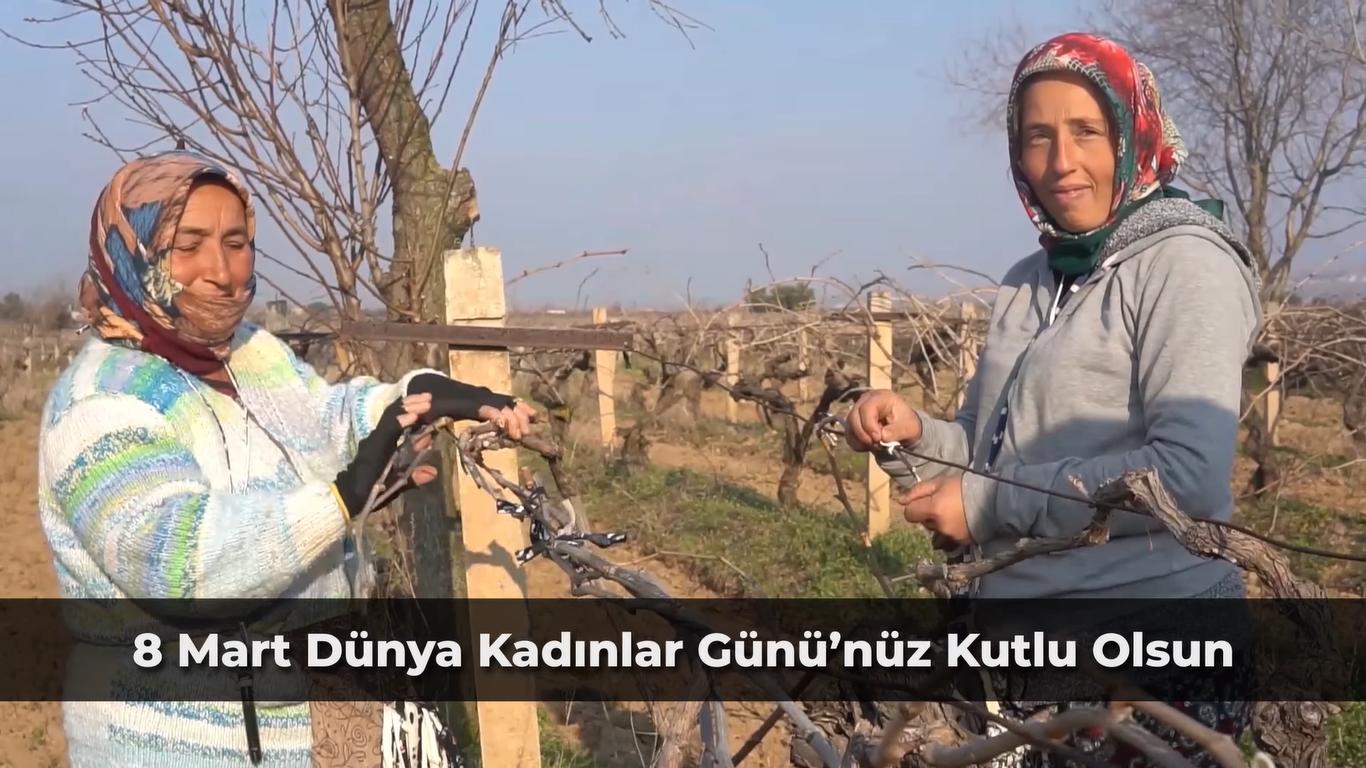 Alaşehir Belediyesi'nden 'Kadınlar Günü'ne Özel Klip