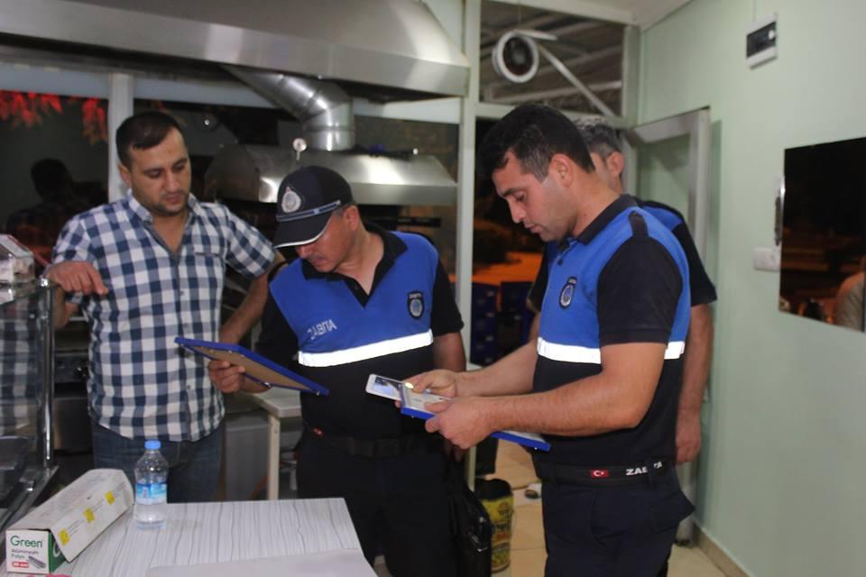 Alaşehir Belediyesi Zabıta Müdürlüğü'den Sabah Denetlemesi