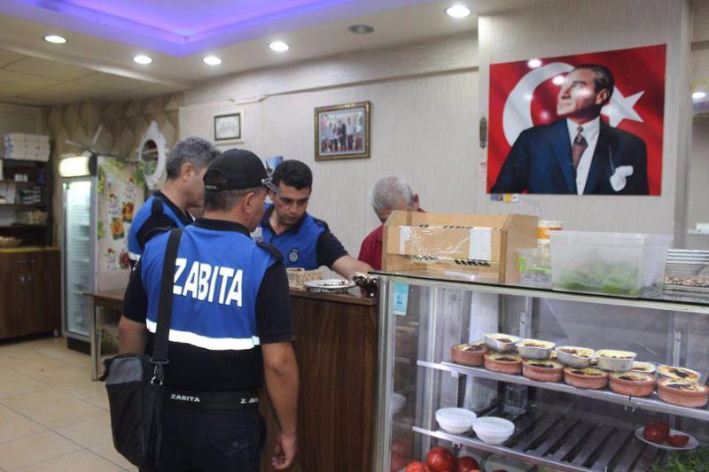 Alaşehir Belediyesi Zabıta Müdürlüğü\'den Sabah Denetlemesi