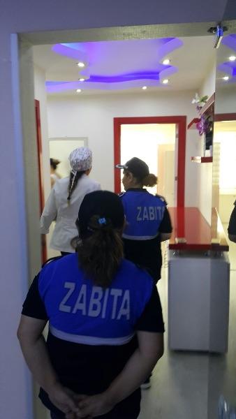 Alaşehir Belediyesi Zabıtası, Denetimlerini Güzellik Salonlarında Sürdürdü