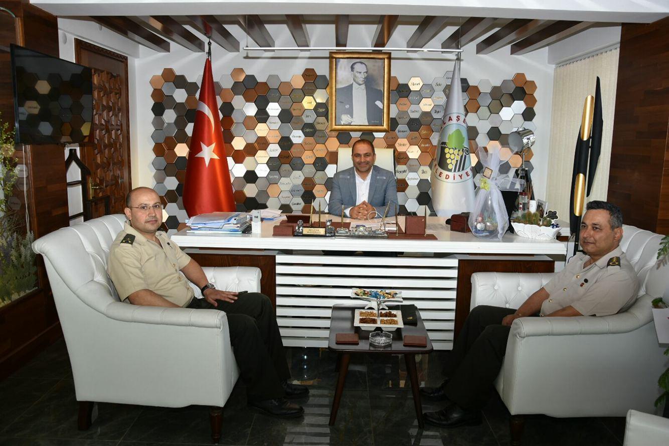 Alaşehir Garnizon Komutanımız Albay Ali İsmail Elalmış\'dan Ziyaret
