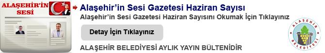 Alaşehir'in Sesi Gazetesi 2017 Yılı Sayıları
