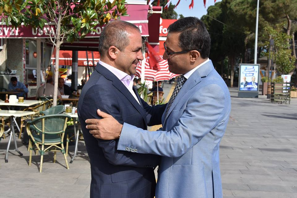 Alaşehir Kaymakamı Syn.Abdullah Uçgun'dan Başkan Ali Uçak'a Hayırlı Olsun Ziyareti.