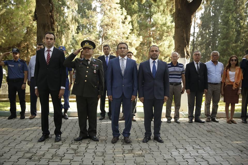 Alaşehirimizin düşman işgalinden kurtuluşunun 96. yıl dönümünde Asri Mezarlık Şehitlik Anıtı'nda düzenlenen törene katıldık.