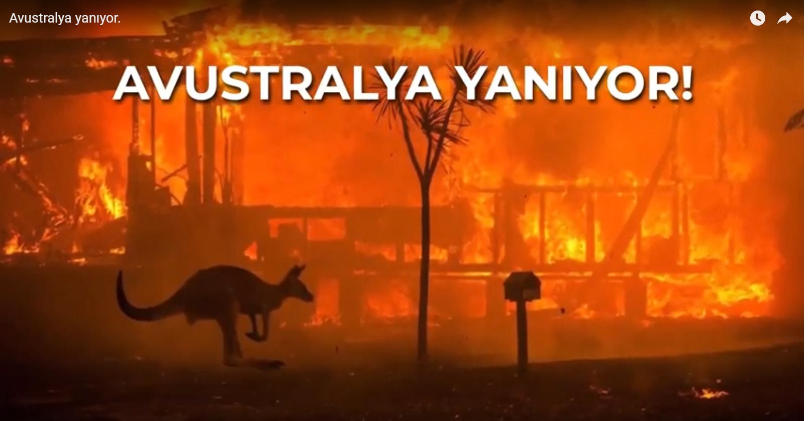Avustralya Yanıyor.