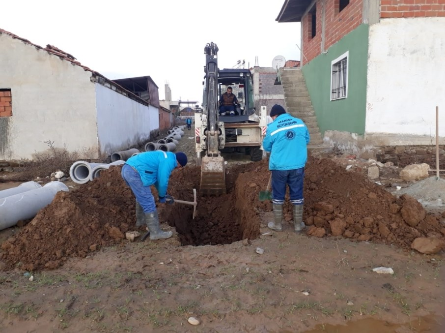 Baklacı Mahallesi'ne Yeni Kanalizasyon Hattı
