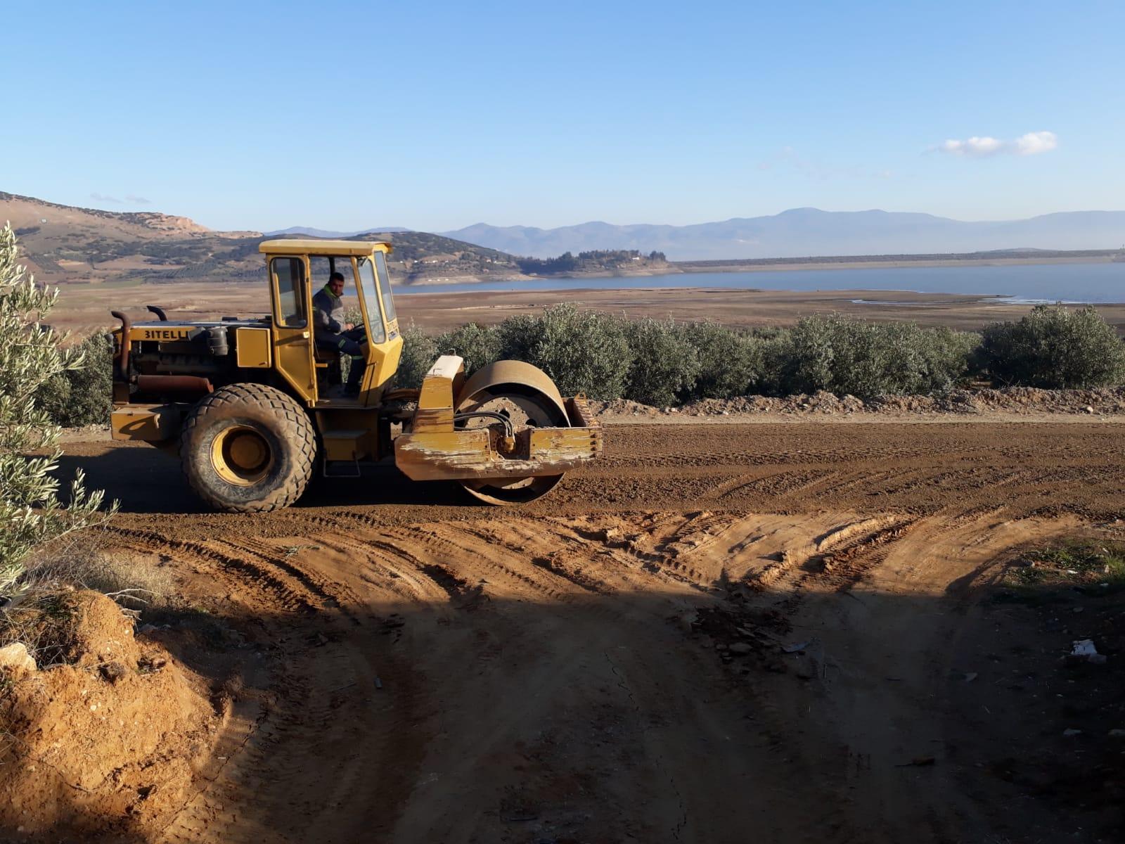Baraj Yolunda Çalışmalar Tamamlandı