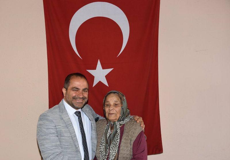Başkan Ali Uçak Şehit Anneleri ve Yalnız Anneleri Unutmadı