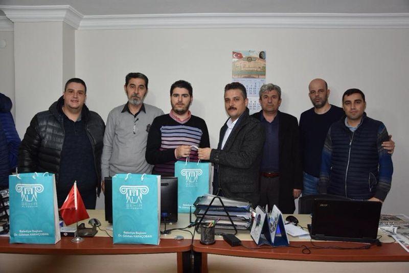 Başkan Karaçoban 10 Ocakta Manisa Basınını Unutmadı