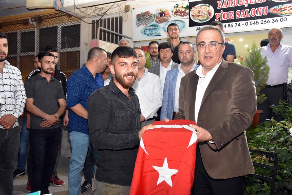 Başkan Karaçoban Askerlerimizi Dualarla Uğurladı