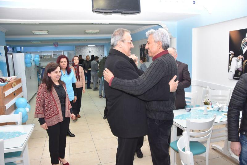 Başkan  Karaçoban, Gönül Sofrası Ev Yemekleri Açılışına Katıldı.