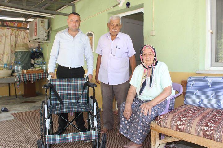 Başkan Karaçoban Halime Teyzeye Umut Işığı Oldu