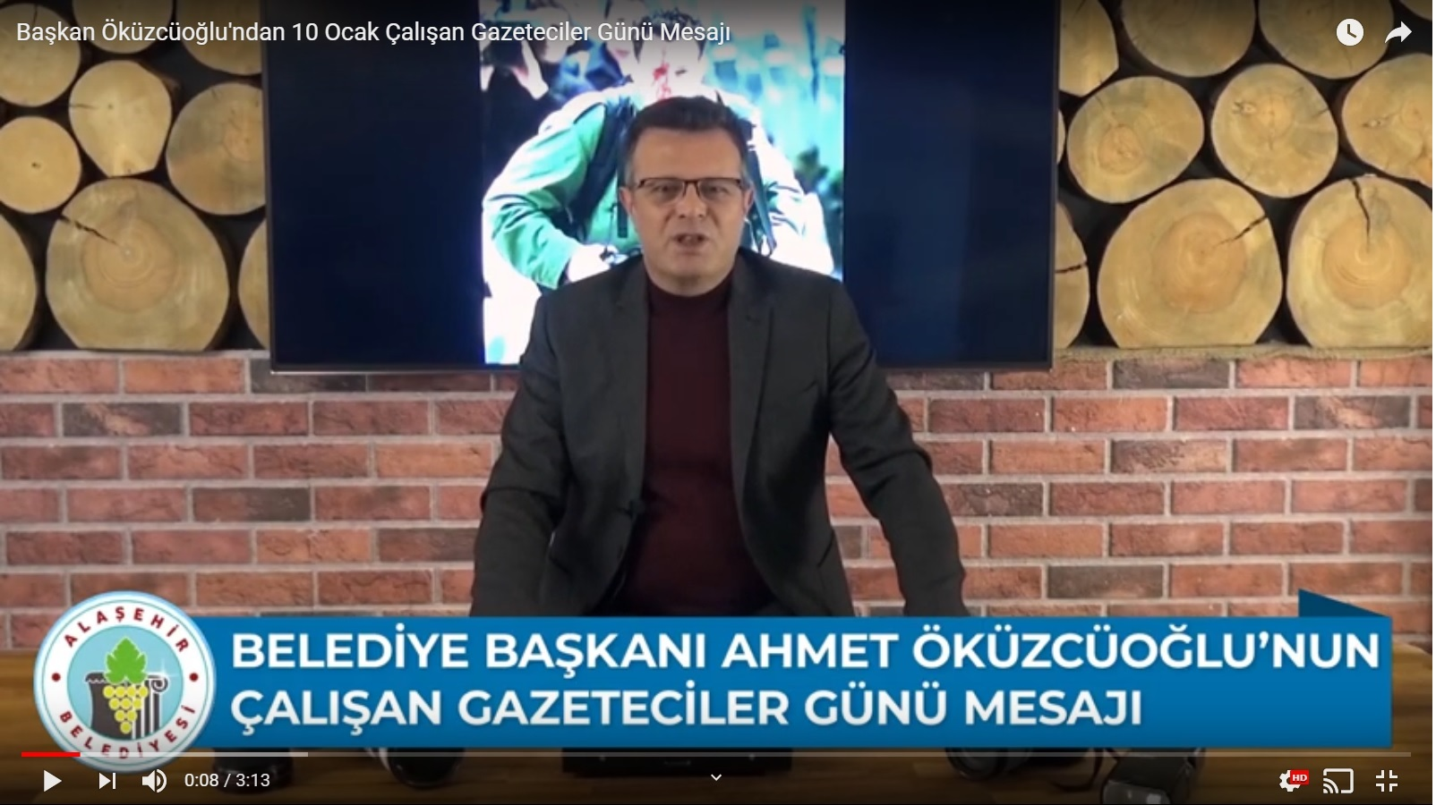Başkan Öküzcüoğlu'ndan 10 Ocak Çalışan Gazeteciler Günü Mesajı