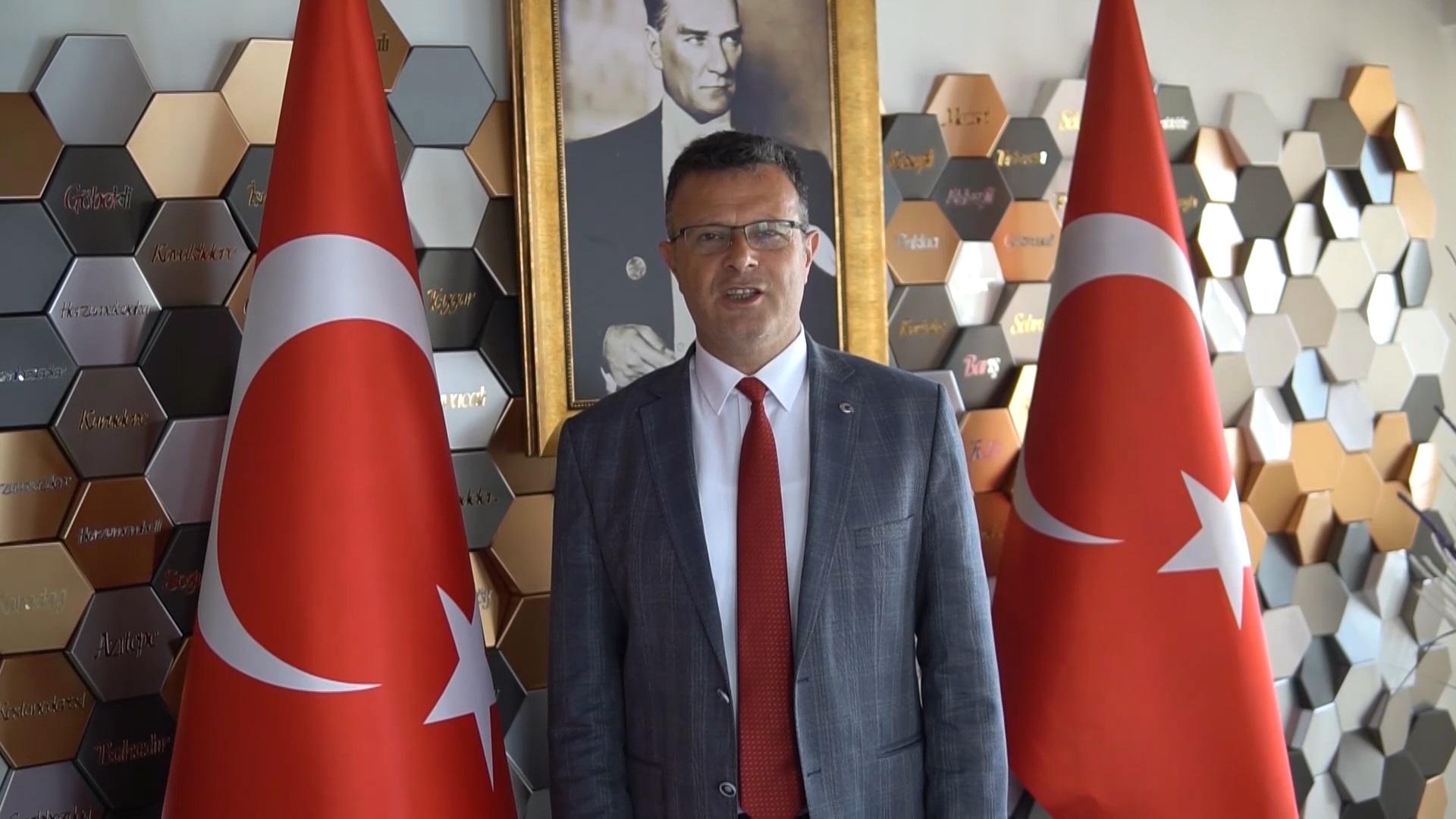 Başkan Öküzcüoğlu'ndan 19 Mayıs Mesajı
