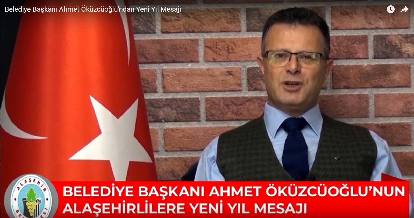 Başkan Öküzcüoğlu'ndan Yeni Yıl Mesajı