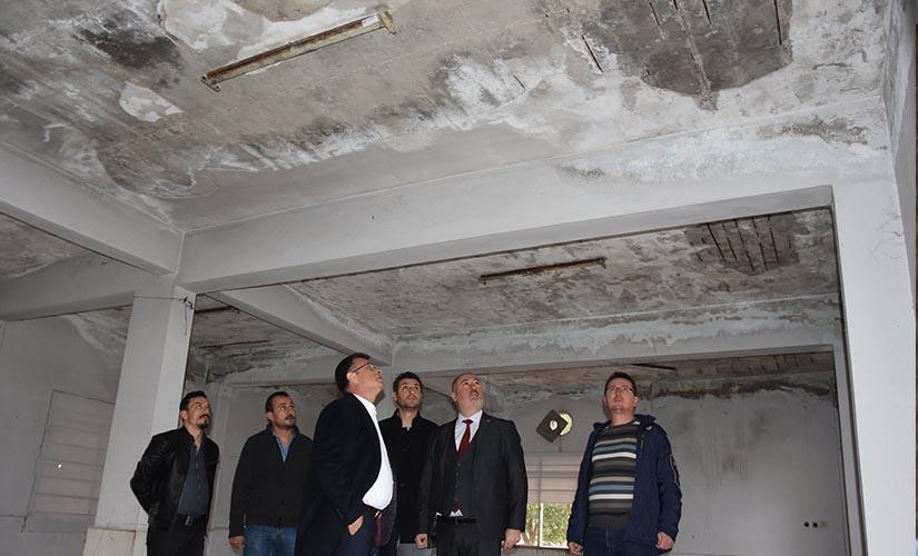 Başkan Öküzcüoğlu Yeşilyurt Mahallesini Ziyaret Etti