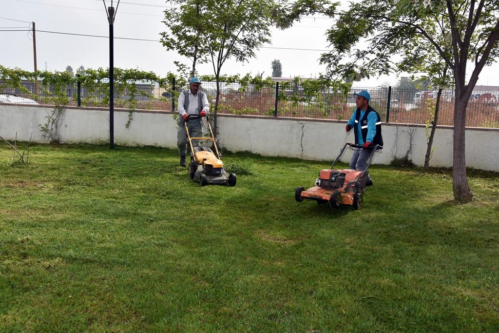 Belediye Çalışıyor Park Ve Bahçeler Güzelleşiyor