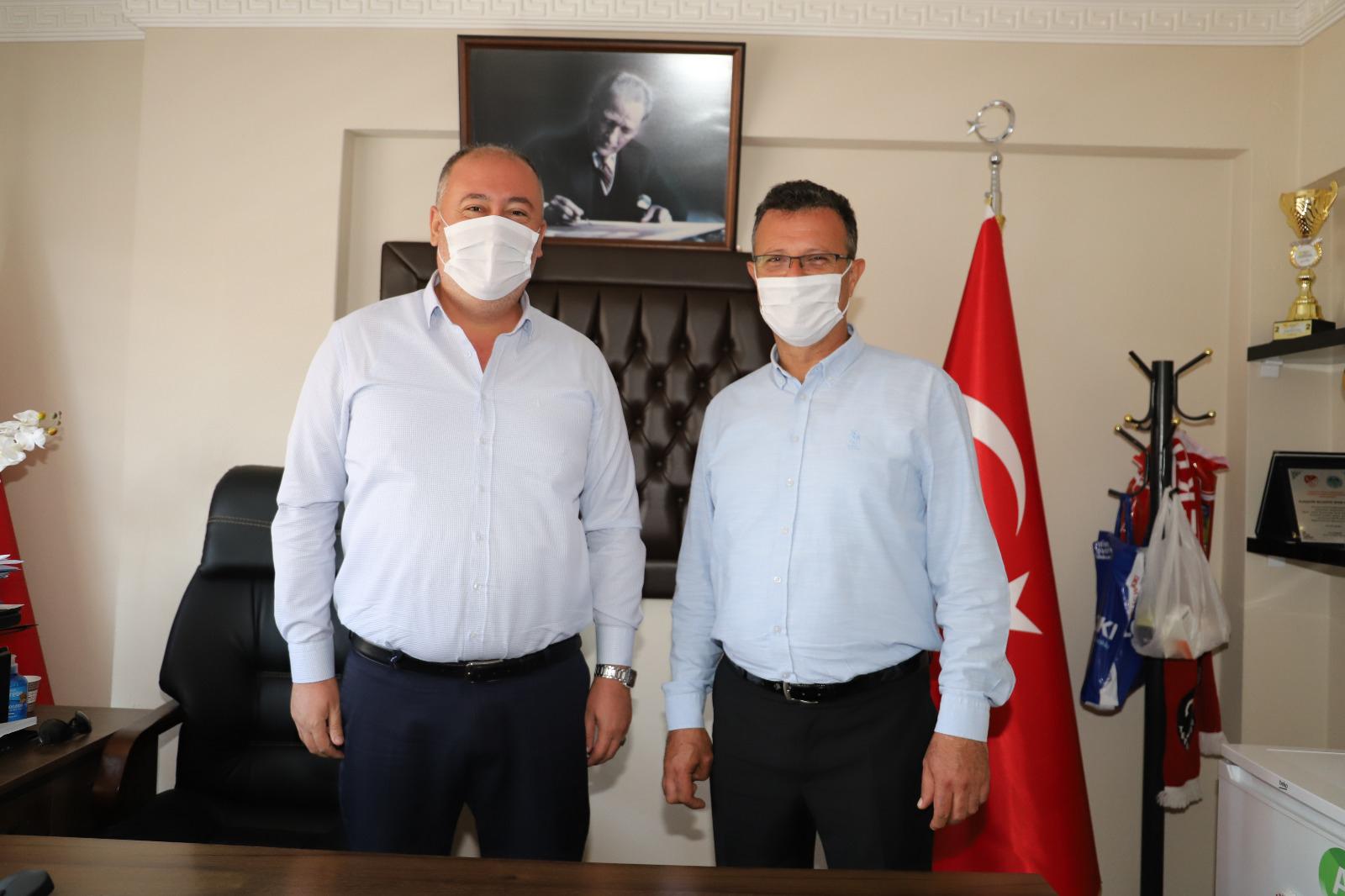 Başkan Öküzcüoğlu Personeli İle Bayramlaştı