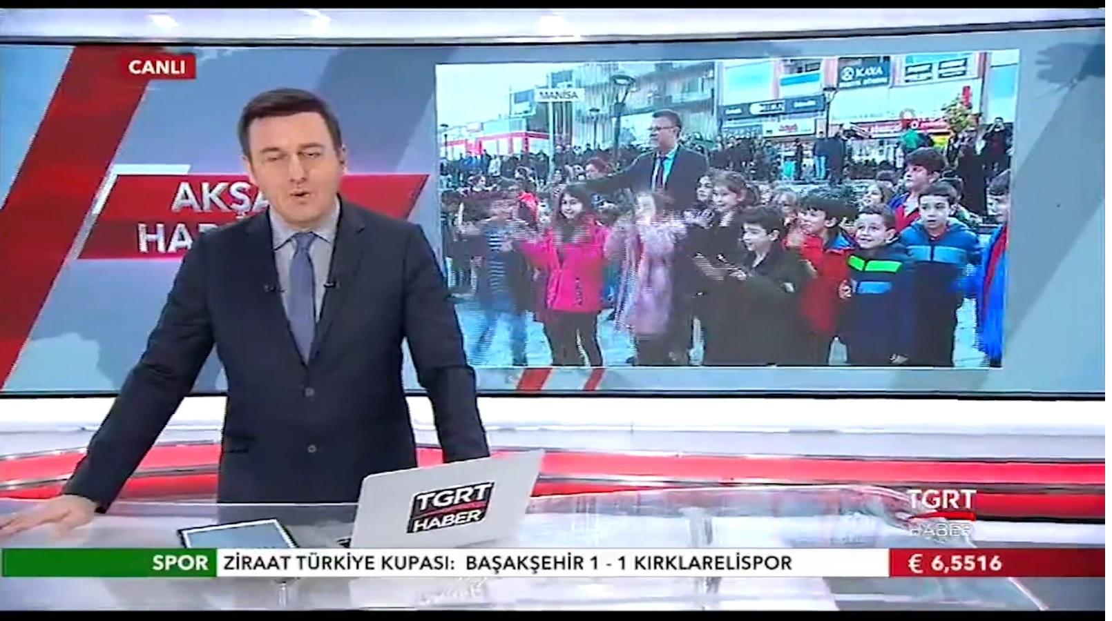 Cumhuriyet Meydanındaki Kar Topu Etkinliği Ulusal Kanallarda Büyük İlgi Gördü