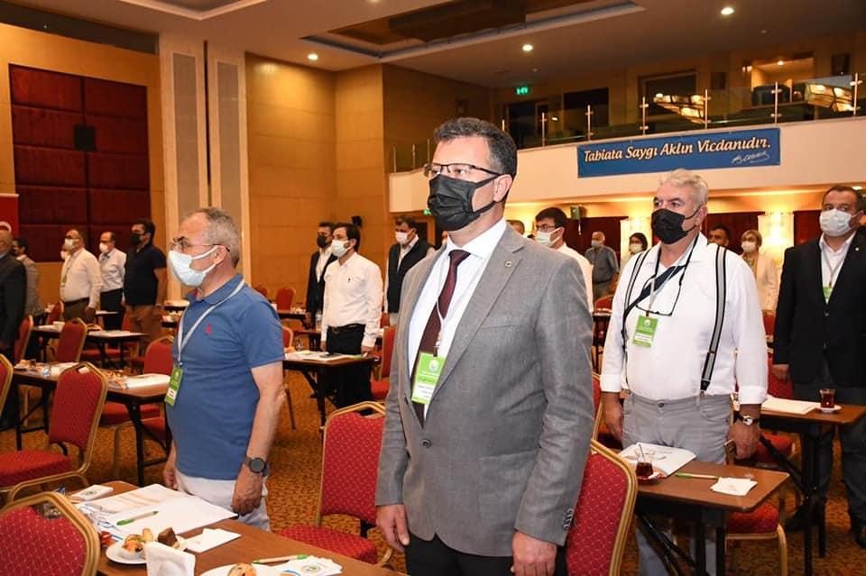Ege ve Marmara Çevre Belediyeler Birliği'nin 2021 yılı 1. olağan Meclis Toplantısına Katıldık