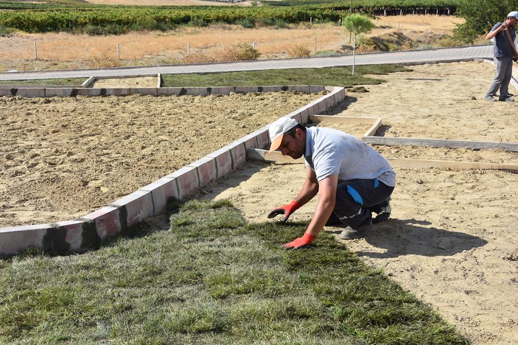 Fen İşleri Ekipleri Matarlı Mahallesinde Çalışmalarına Devam Ediyor