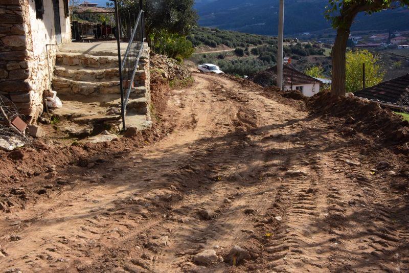 Girelli Mahallesinde Yol Düzenleme Çalışmaları Başladı