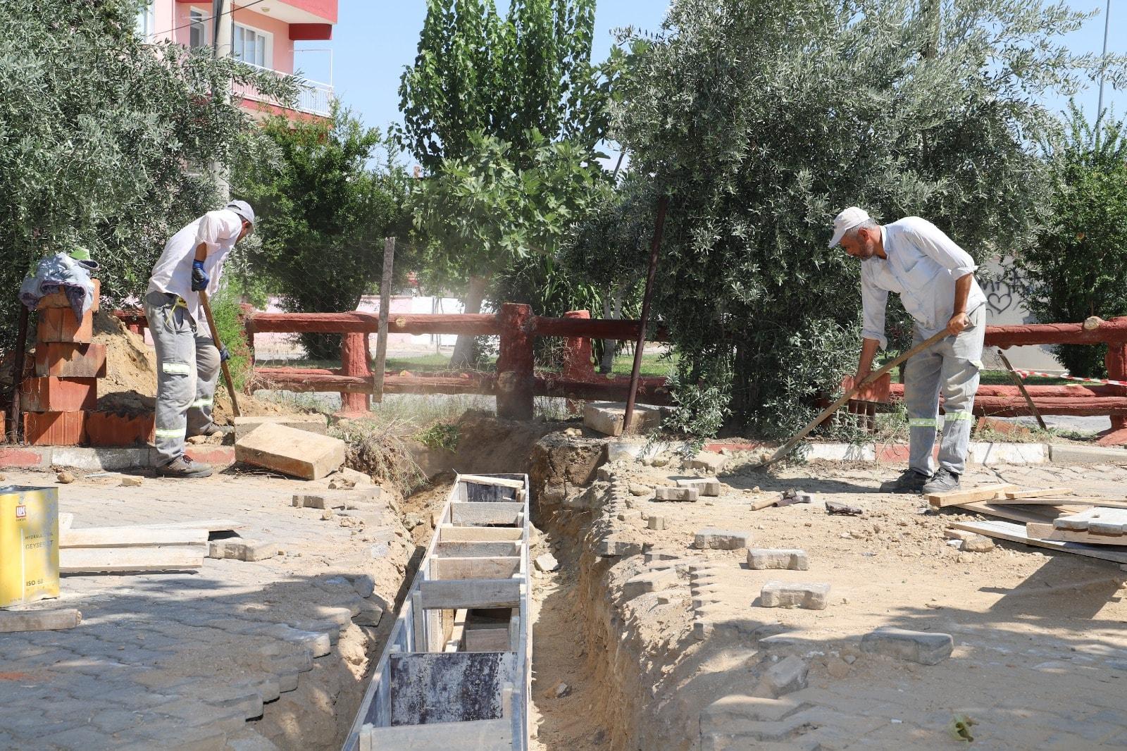 Hacıbey Mahallemizde Menfez Çalışmaları