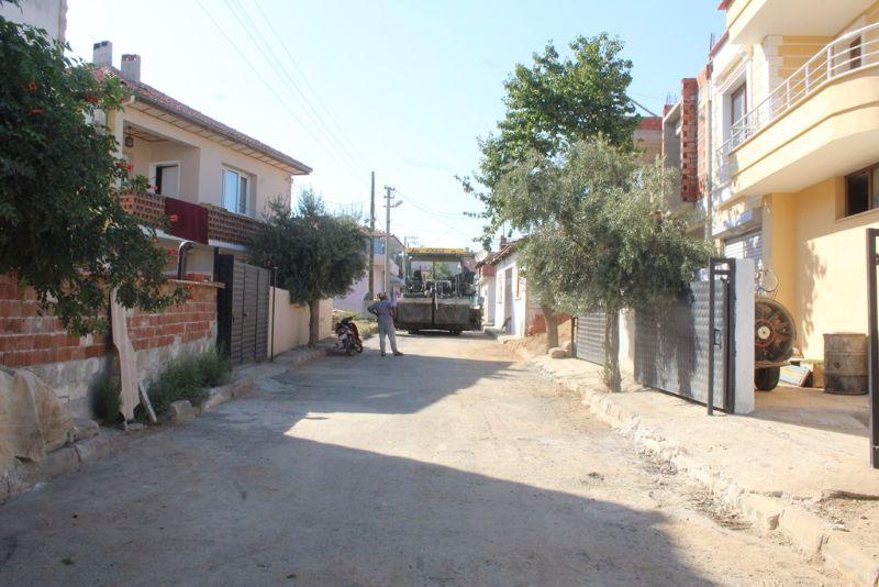 Hacıbey Mahallesine 2000 M2lik Sıcak Asfalt