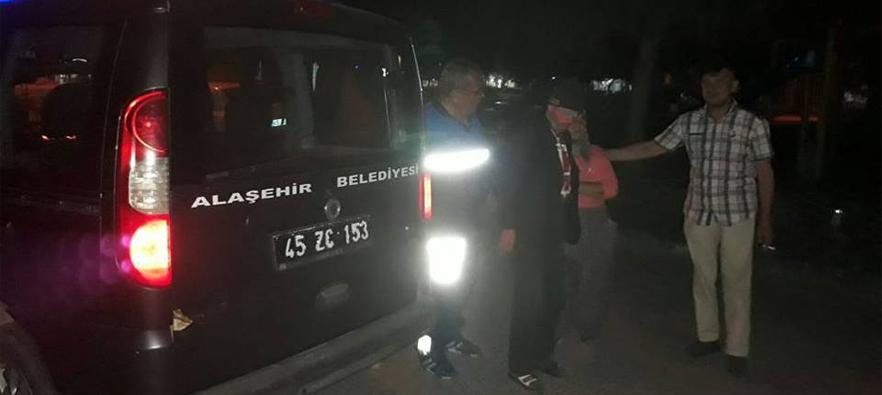 Kayıp Vatandaşı Zabıta, Alaşehir'de Buldu