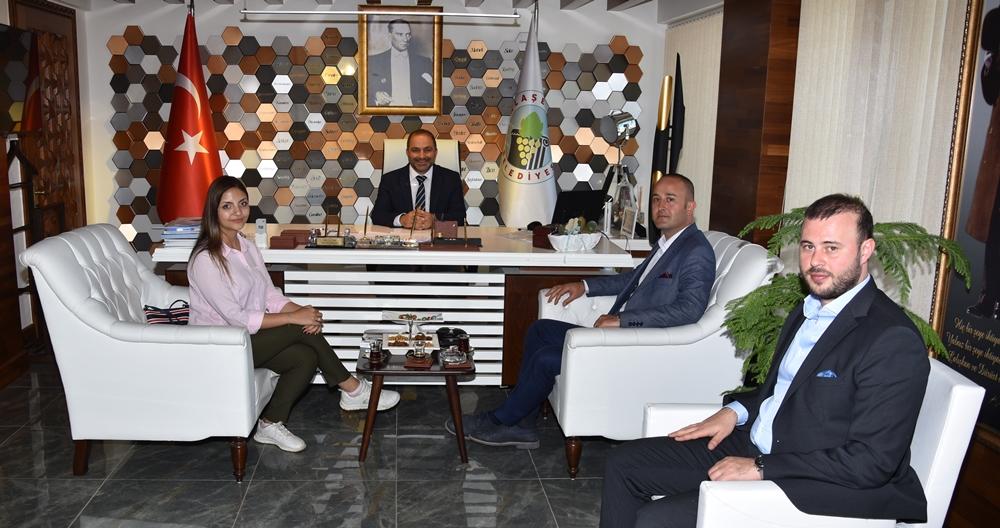 Kent Estetiği Daire Başkanı Bahadır Belek'ten Ziyaret