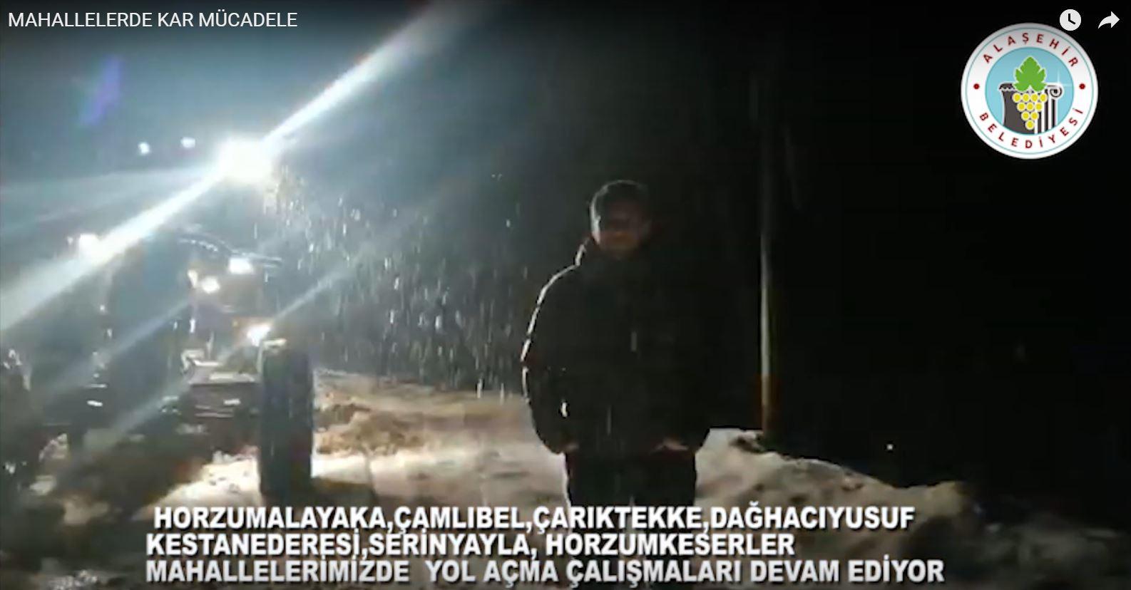 Kırsal Mahallelerde Karla Mücadeleye Devam Ediyoruz