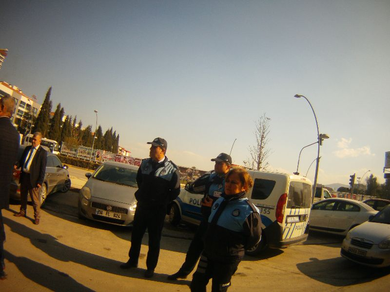 Alaşehir Belediyesi Zabıta Müdürlüğünden Huzur Denetimi
