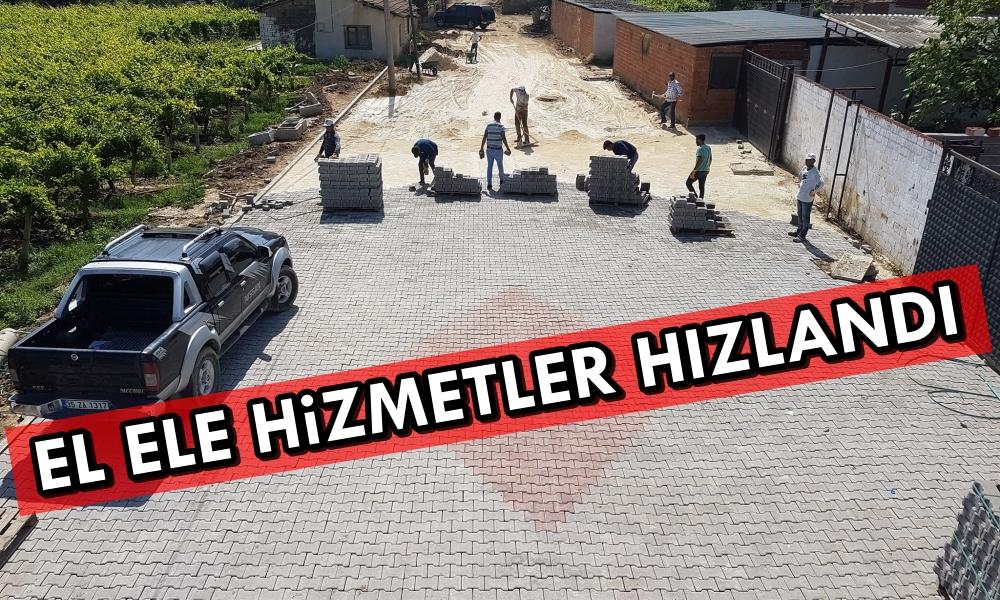Manisa Büyükşehir Belediyesi ve Alaşehir Belediyesi El Ele Hizmetleri Hızlandırdı.