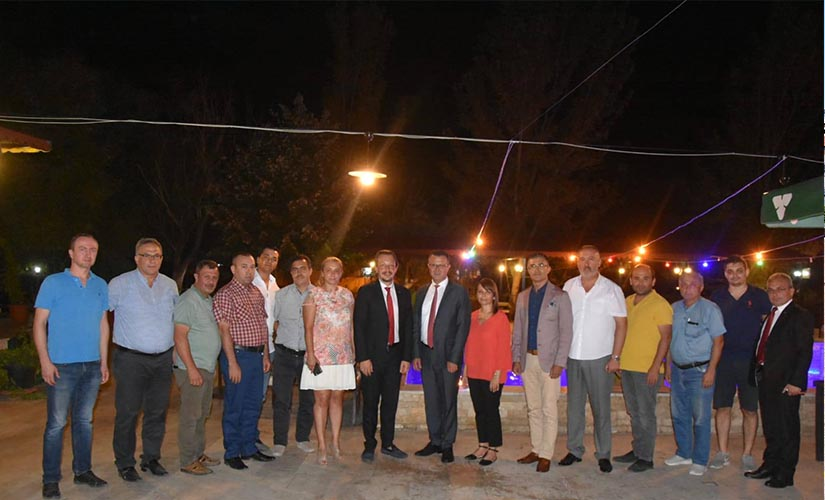 Manisa Veteriner Hekimleri Odası Başkanı Merter Yıldız'dan Başkan Öküzcüoğlu'na Ziyaret