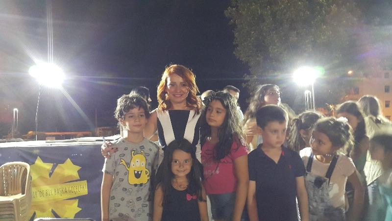 Mucit Abla Alaşehir'de Çocuklara Bilimi Sevdirdi
