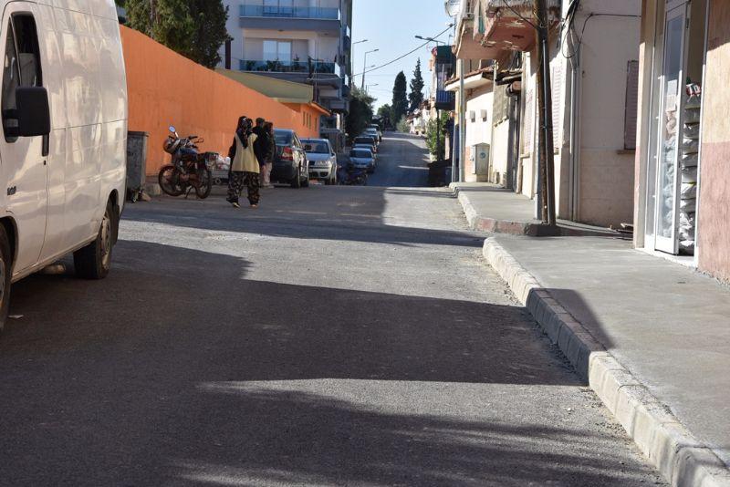 Sarısu Mahallesi Yeni Kaldırımlarla Daha Güzel