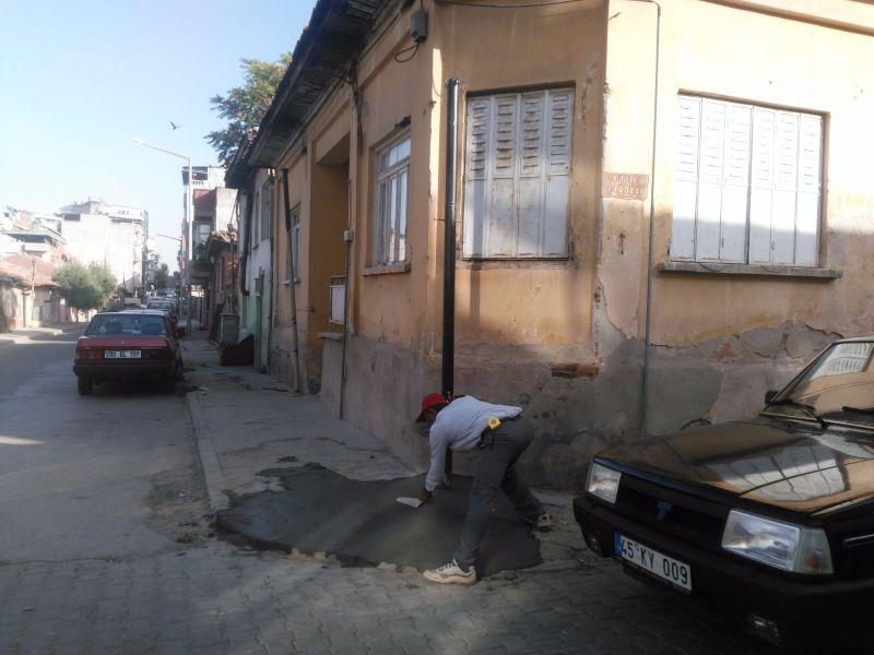Soğuksu Mahallesinde Zarar Gören Direkler  Değişti