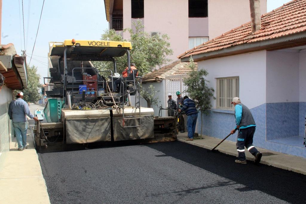 Yeni Mahallede 30.000 M2lik Sıcak Asfalt Çalışması Başladı