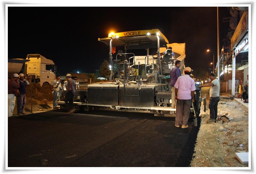 Alaşehir Belediyesi, Asfalt Çalışmasında Ezber Bozdu