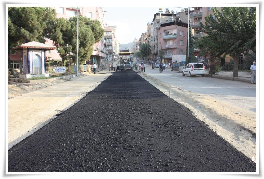 Atatürk Bulvarı'nda çalışmalar tam gaz sürüyor