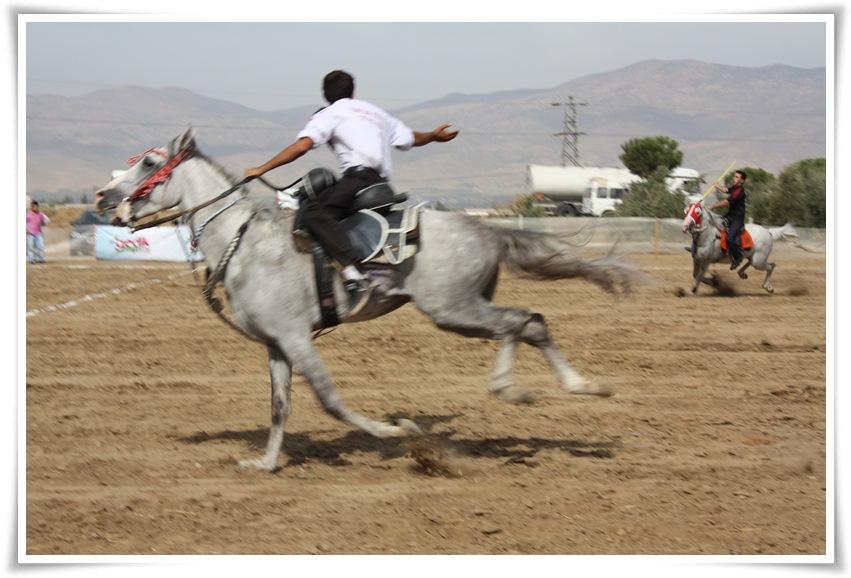 Cirit Şampiyonası'nın Bir Ayağı Alaşehir'de Yapıldı
