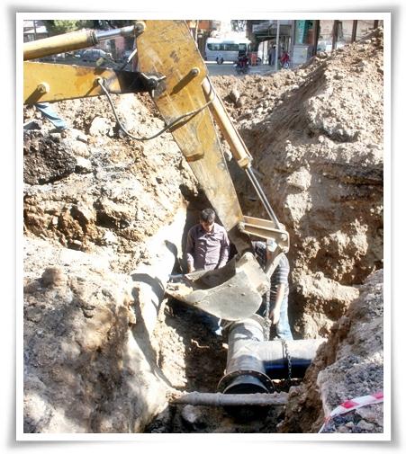 Alt Yapı Çalışmalarında Su Hatları Yenilendi